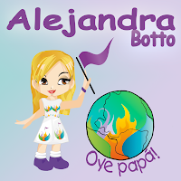 Portada Oye Papa by Alejandra Botto