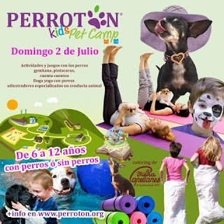 PERROTON KIDS PET CAMP 2017